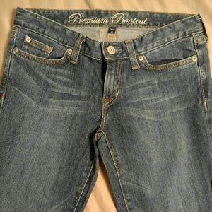 GAP premium boot cut jeans size 2R